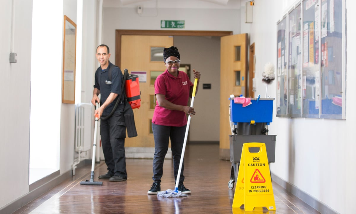 The Cleaners Who Won Fair Wages And A Way To Belong Work Careers The Guardian