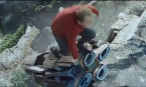 Scotty jumping