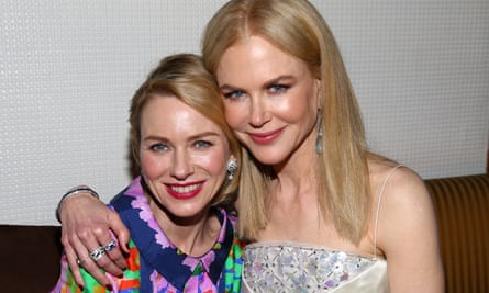Naomi Watts with Nicole Kidman
