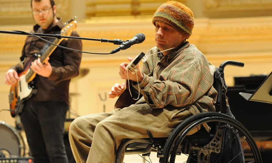 Vic Chestnutt and Elf Power perform during rehearsals for the Music of REM tribute at Carnegie Hall, New York.