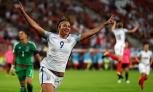 Jodie Taylor's treble against Scotland made her the first England player to score a hat-trick in a major tournament since Gary Lineker in 1986.