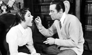 Julie Andrews and Rex Harrison in My Fair Lady, which was eventually staged in Britain in 1958.