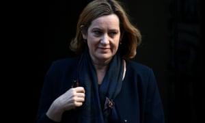 Amber Rudd, the home secretary