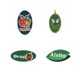 Fruit sticker set 3