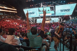 the Overwatch league grand finals in New York in July.