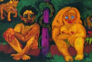 Emil Nolde's Paradise Lost, 1921.