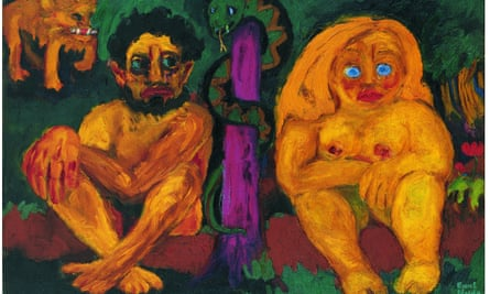 Paradise Lost, 1921, by Emil Nolde.