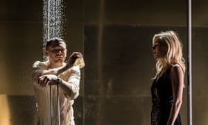 'The temperature here would not boil an egg': Jack O'Connell and Sienna Miller in Cat on a Hot Tin Roof.
