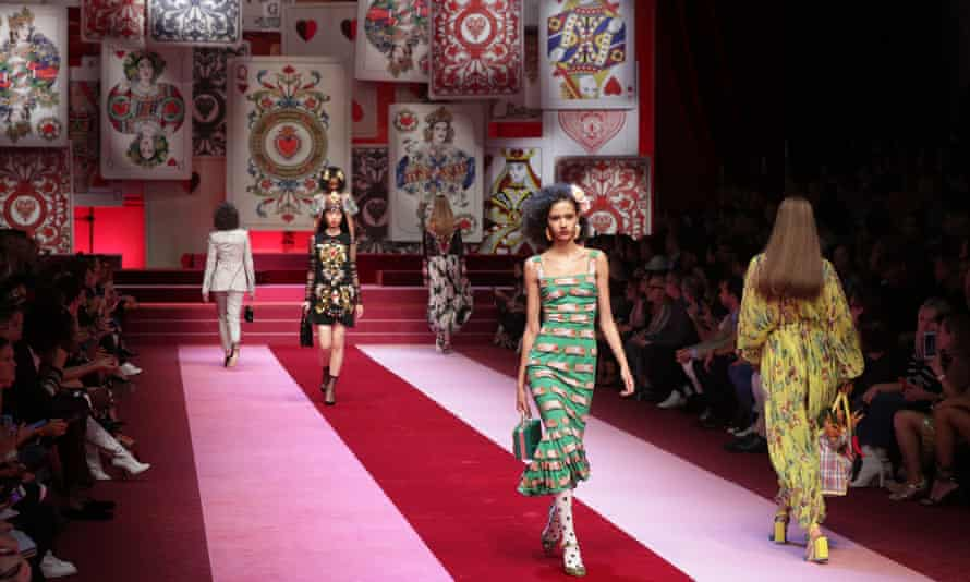 The Dolce and Gabbana show.