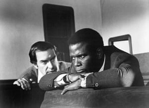 With Sidney Poitier In 'They Call Me Mister Tibbs!'1970