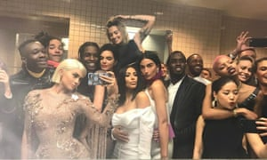 #Squadgoals: Kylie Jenner and the in-crowd at the Met Gala.