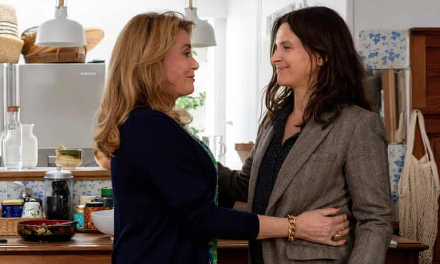 Something is awry … Catherine Deneuve and Juliette Binoche in The Truth, directed by Hirokazu Kore-eda.