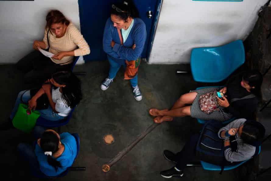 Women at a family planning clinic in Petare, Venezuela