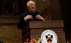 Angus Deaton at Princeton University
