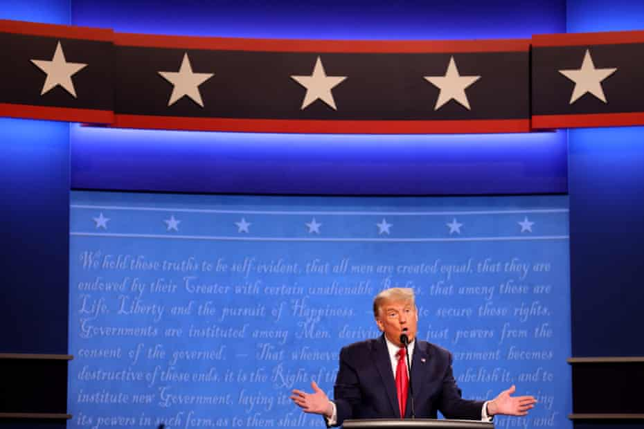 'Trump desperately wants it be 2016 again, when his opponent, Hillary Clinton, was dragged down by misogyny, a dogged FBI and the whiff of coastal elitism.'