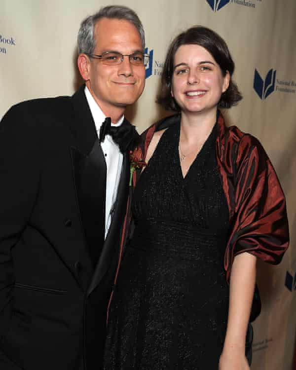 Blake Bailey and wife Mary Brinkmeyer at the 2010 National Book Awards in New York.