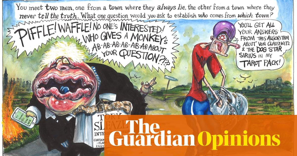 Martin Rowson on Johnson's communications meltdown – cartoon