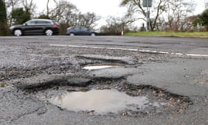 An extra £420m was made available for local authorities to tackle potholes.