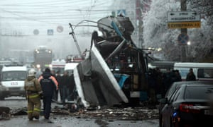 The 2013 bombing of a trolleybus in Volgograd