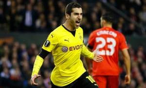 Henrikh Mkhitaryan joined Borussia Dortmund from Shakhtar Donetsk for £23m in 2013.