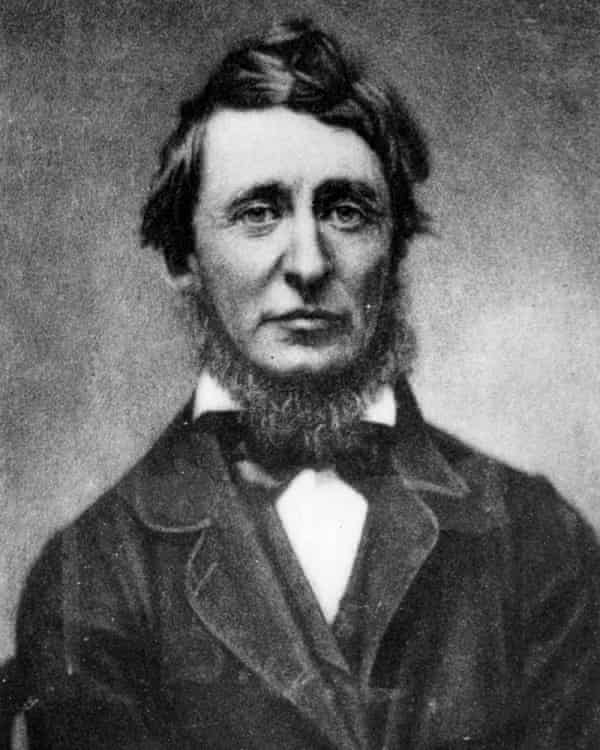 Still radical … Henry David Thoreau.