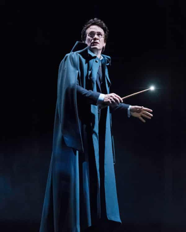 Jamie Parker as Harry Potter in the new stage play Harry Potter And The Cursed Child.