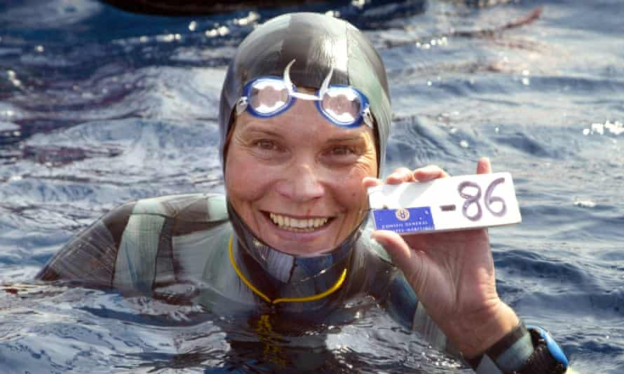 Russian freediver Natalia Molchanova, who has been missing since 2 August.