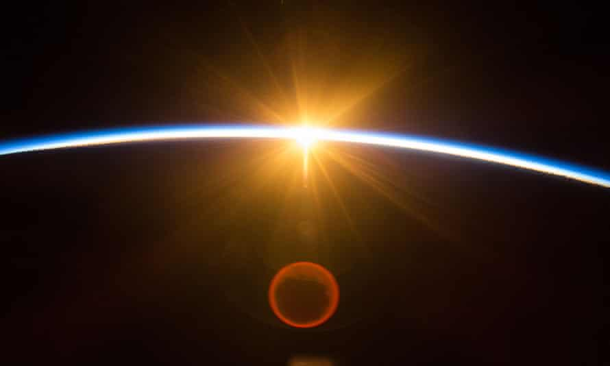 The sun from space
