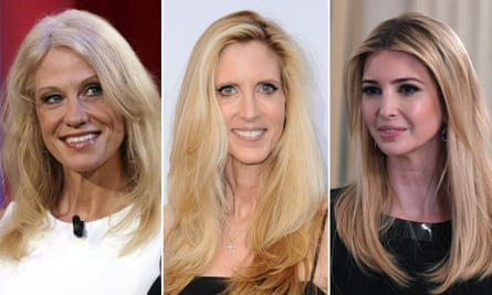 Kellyanne Conway, Ann Coulter and Ivanka Trump.