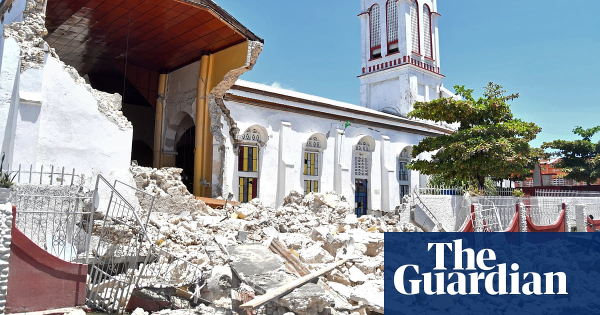 Haiti: drone footage shows devastation after deadly earthquake