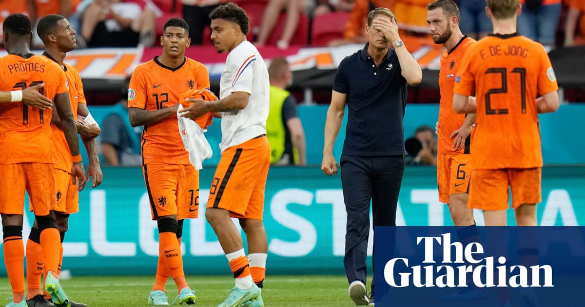 Die Euro 2020 Fiver: Frank de Boer complaining in the Scooby-Doo style