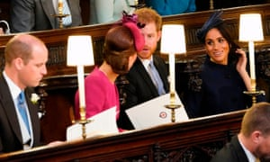 The Duke and Duchess of Cambridge with the Duke and Duchess of Sussex