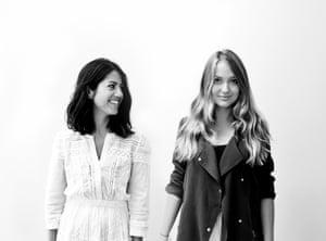 Copywriter Shiran Teitelbaum and Art Director Alice Blastorah, makers of Jewish slogan clothing Unkoshermarket