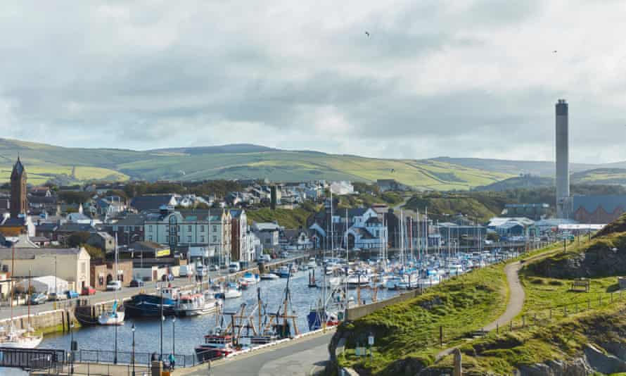 View of Peel, Isle of Man.