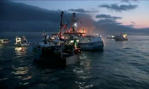 British and French fishing boats collide in the Channel