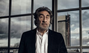 "Howard Jacobson photographed at his home in Central London. Howard Eric Jacobson is a British novelist and journalist. He is known for writing comic novels that often revolve around the dilemmas of British Jewish characters. He is a Man Booker Prize winner for his book ""The Finkler Question""."