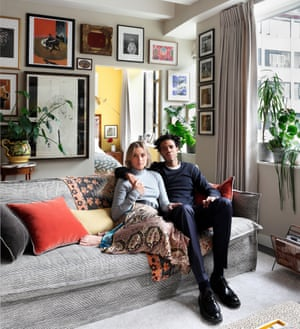 Turn on, tune in: Sophie Ashby and Charlie  Casely-Hayford in their former BBC home.