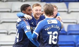 Oldham Athletic's David Keillor-Dunn
