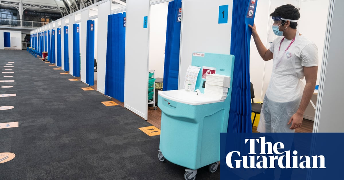 'It's the right thing to do': Londoners receive first jabs at new mass vaccination centre – video