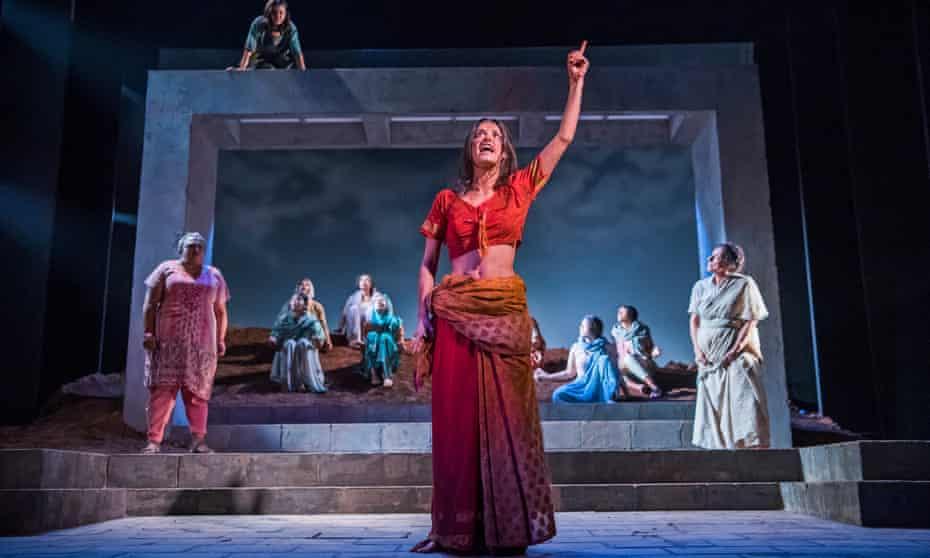 Anya Chalotra as Jyoti in The Village at Theatre Royal Stratford East.