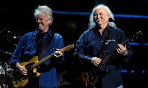 Long time gone … Graham Nash and David Crosby in 2009.