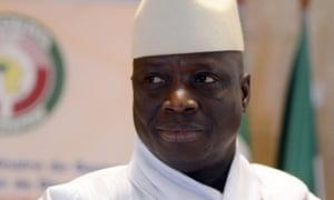 Yahya Jammeh in 2014.