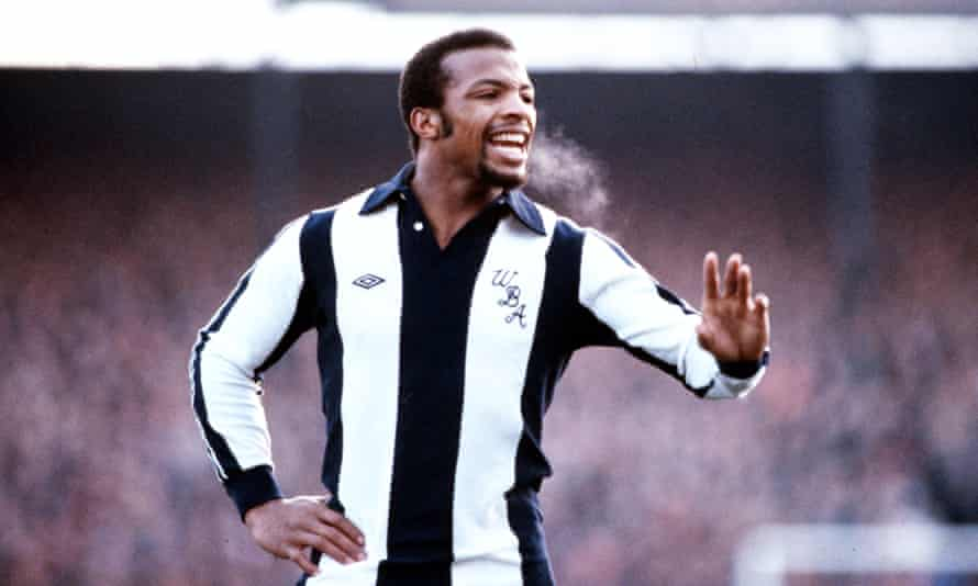 Cyrille Regis in action for West Brom in 1980.