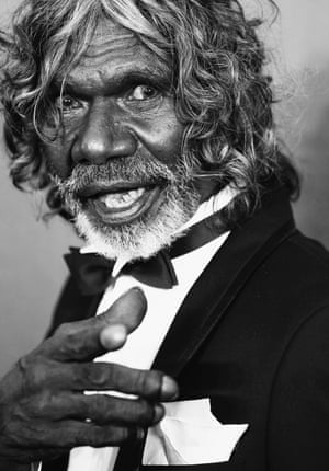 David Gulpilil arrives at the 4th AACTA Awards Ceremony at The Star on 29 January. He won best lead actor for his role in Charlie's Country.