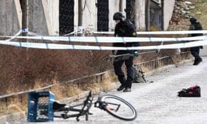 Stockholm explosion