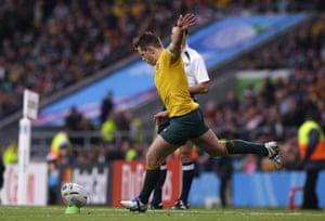 Foley kicks the penalty.