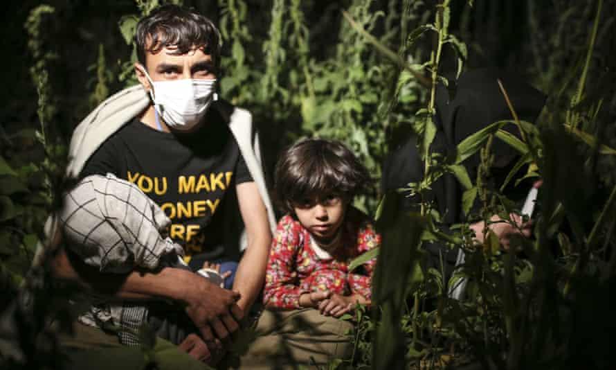 Afghan asylum seekers in Tatvan, Bitlis province, eastern Turkey