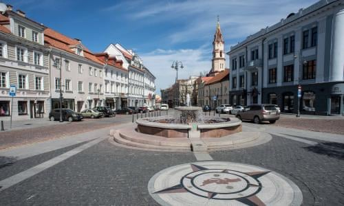 Lithuanian Capital To Be Turned Into Vast Open Air Cafe World