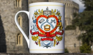 A mug for £20 is part of the range being sold to raise money for homeless people in Windsor.