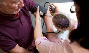 Older man blood pressure with GP